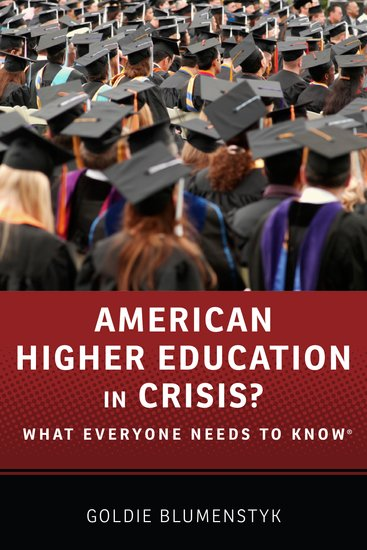 American Higher Education in Crisis? - Paperback - Goldie ...
