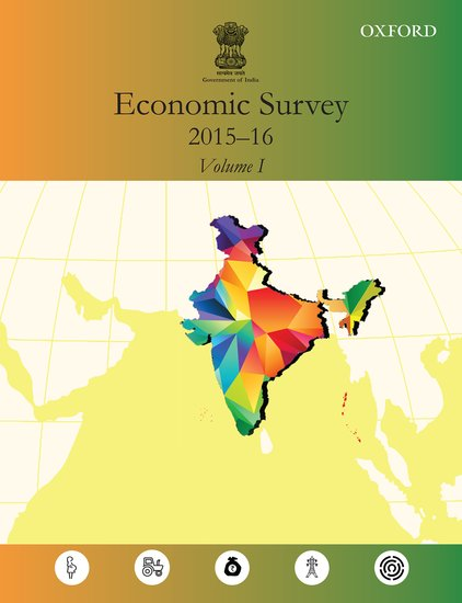 economic survey 2015 16 ministry of finance government of india oxford press