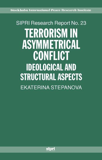 asymmetric conflict theory Allen s weiner, just war theory and the conduct of asymmetric warfare, 146 daedalus: journal of the american academy of arts & sciences 59 (winter 2017) a central element of the dominant.