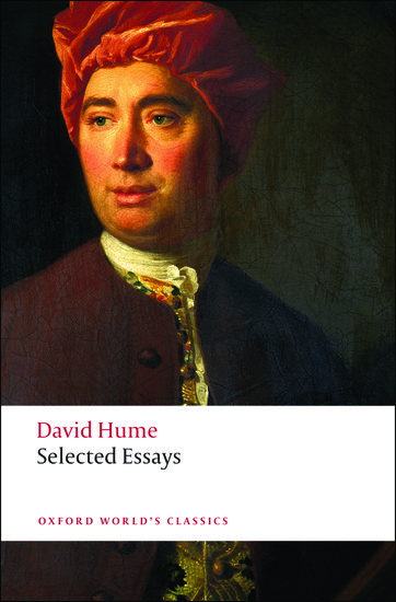 selected essays   david hume   oxford university press