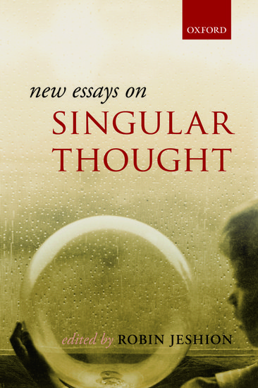 New essays on singular thought