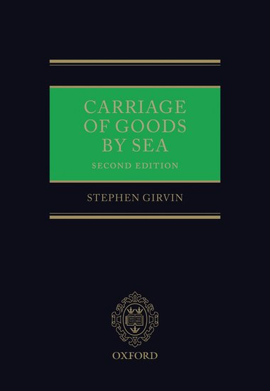 an analysis of carriage of goods by sea Nikaki macrodmdonedocx 8/15/12 11:26 am 303 a new international regime for carriage of goods by sea: contemporary, certain, inclusive and efficient, or.