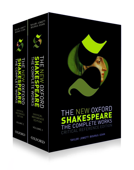 The New Oxford Shakespeare Critical Reference Edition William