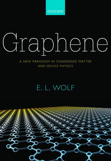 Graphene Hardcover E L Wolf Oxford University Press
