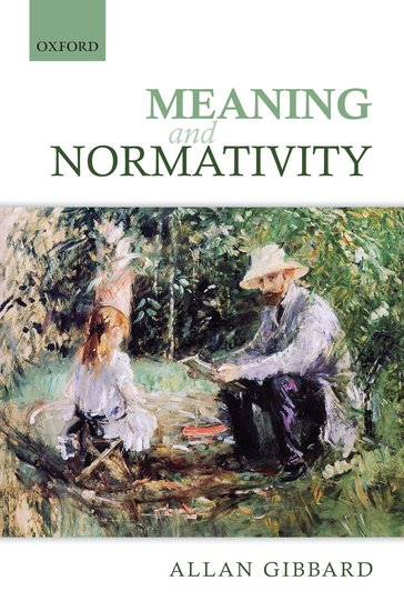 Book Cover Forros Meaning : Meaning and normativity hardcover allan gibbard