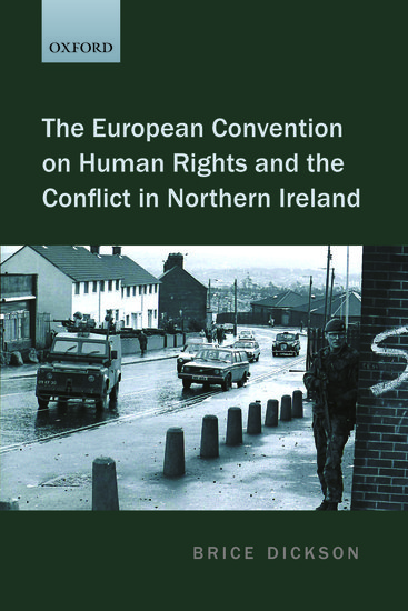 The European Convention On Human Rights And The Conflict border=