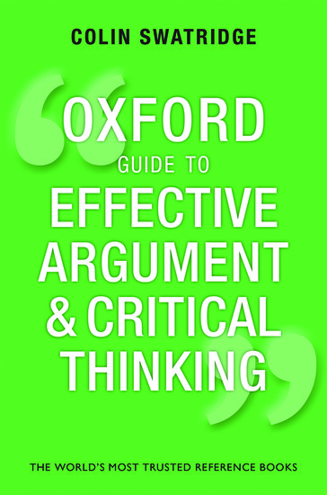 oxford university critical thinking a level Joe mcveigh, co-author of q skills for success, discusses how students analyze and compare information as they develop critical thinking skills joe also.