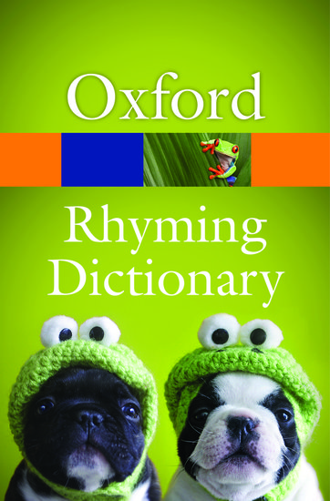 New Oxford Rhyming Dictionary Paperback Oxford University Press