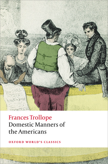 review on mrs trollopes domestic manners Her poverty and therefore the necessity to save on domestic costs,  to the trollopes and to the hawthornes,  when mrs field joined kate at florence.