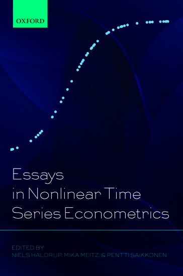 research papers on time series econometrics Time series econometrics academic year: 2016/ 2017 4th term instructor(s): joão valle e azevedo course description: the course analyzes the specificities of the linear regression model with time series data and it introduces http:// facultychicagoboothedu/ johncochrane/ research/ papers/ time_series_bookpd.