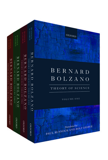 a biography of the life and times of philosopher bernard bolzano Works by bernard bolzano  editor's introduction throughout his life bolzano's interest was divided between ethics and mathematics, between his will to reform the .