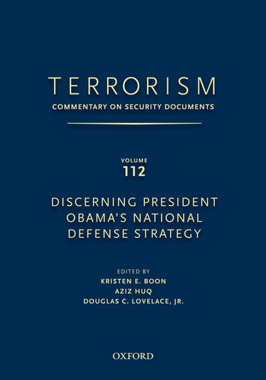 TERRORISM: Commentary on Security Documents Volume 112