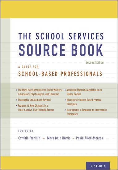 The School Services Sourcebook Second Edition Cynthia Franklin