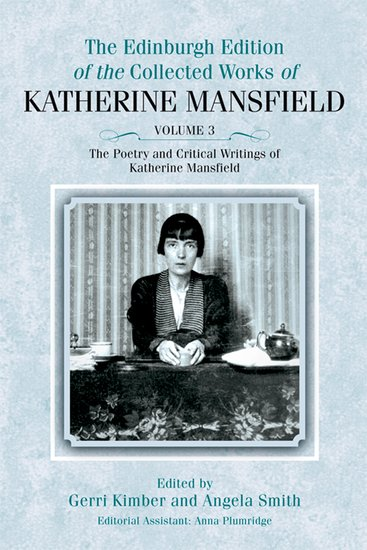 Katherine Mansfield Additional Biography