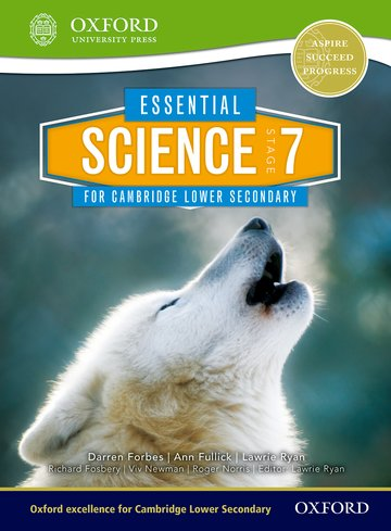Essential Science for Lower Secondary 7 Student Book