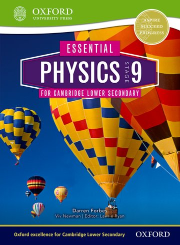 Essential Physics for Lower Secondary 9 Student Book