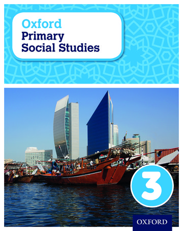 Oxford International Primary Social Studies Student Book 3