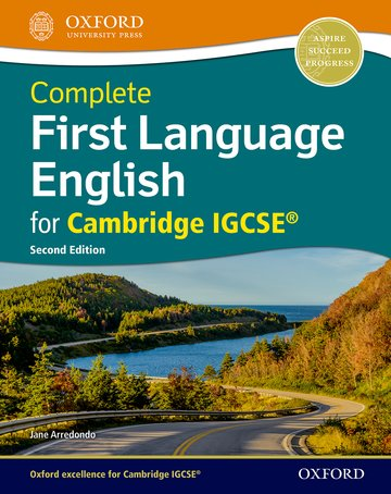 Complete First Language English for IGCSE Student Book