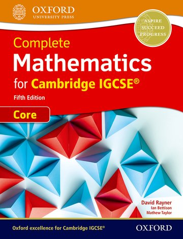 Complete Mathematics (Core) for IGCSE Student Book