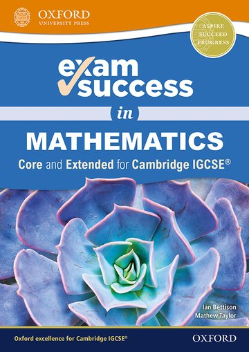 Exam Success in Mathematics for IGCSE