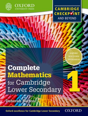 Complete Mathematics for Lower Secondary 1 Student Book