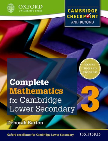 Complete Mathematics for Lower Secondary 3 Student Book