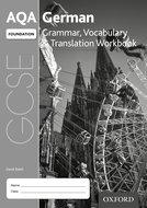 AQA GCSE German Foundation Workbook Pack of 8