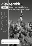 AQA GCSE Spanish Higher Workbook Pack of 8