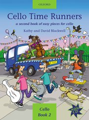Cover for Cello Time Runners CD