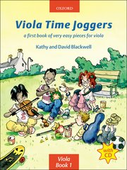 Cover for Viola Time Joggers CD