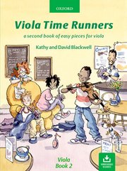 Cover for Viola Time Runners