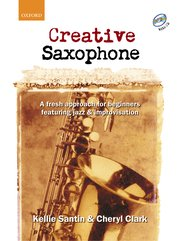 Cover for Creative Saxophone CD