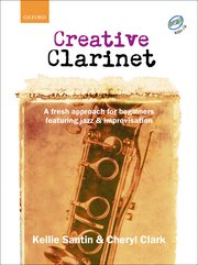Cover for Creative Clarinet CD