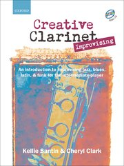 Cover for Creative Clarinet Improvising CD