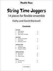 String Time Joggers