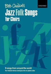 Jazz folk songs for choirs image
