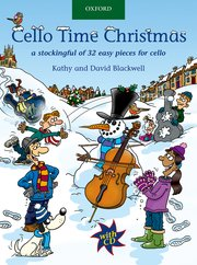 Cello time Christmas image