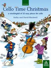 Cello time Christmas image