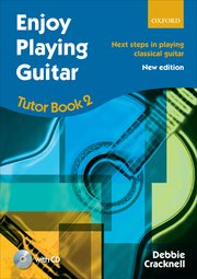 Enjoy Playing Guitar Tutor Book 2 CD