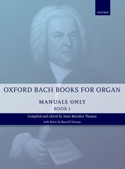 Oxford Bach books for organ image
