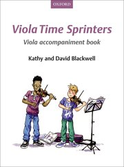 Viola Time Sprinters Viola Accompaniment Book