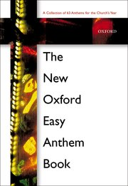 New Oxford easy anthem book image
