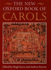 New Oxford book of carols image