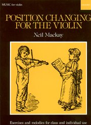 Position changing for the violin image