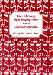 Folk Song Sight Singing Book 9