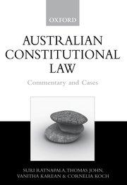 Cornelia Koch australian constitutional suri ratnapala cornelia koch