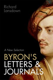 Cover for   Byrons Letters and Journals