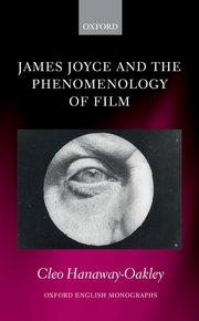 James Joyce and the Phenomenology of Film Book Cover