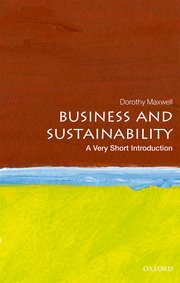 Cover For Business And Sustainability A Very Short Introduction