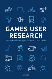 Cover for   Games User Research